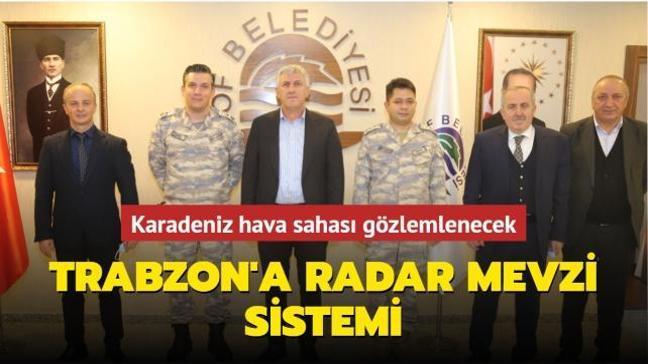 Trabzon Of'a radar mevzi sistemi... Karadeniz hava sahası gözlemlenecek
