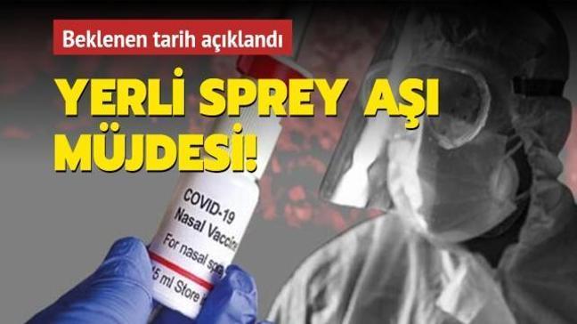 """Bakan Varank sprey aşı için tarih verdi: """"Yıl içinde kullanıma sunulmasını hedefliyoruz"""""""