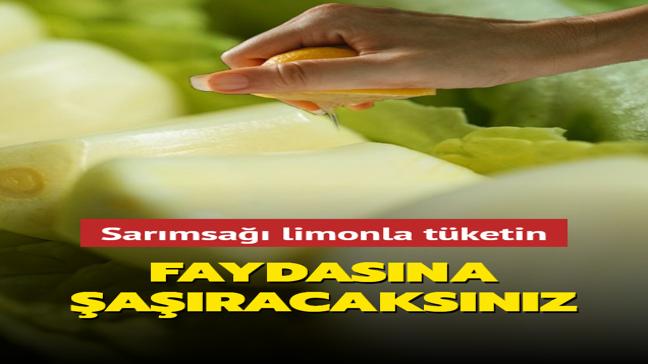 Doktor Ender Saraç önerdi: Sarımsağı limonla tüketin! Doğal antibiyotik