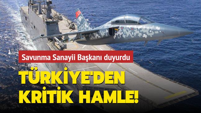 Savunma Sanayii Başkanı Demir: HÜRJET TCG Anadolu'ya konuşlandırılabilir