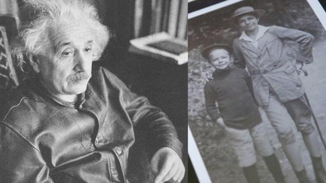 """Albert Einstein nasıl bir babaydı"""" İşte oğluna göre Albert'i eşsiz kılan özelliği"""