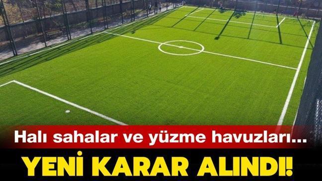 """İstanbul'da halı sahalar açık mı, çalışma saatleri nasıl"""" Yüzme havuzları ve halı sahalar ne zaman açılacak"""""""