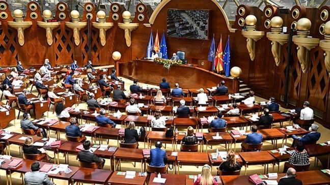 Makedonya'da FETÖ'nün şirketleri ve çalışanları mecliste Başbakan'a soruldu