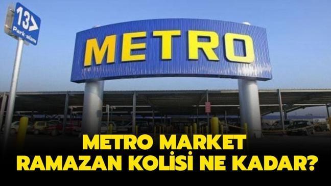 """Metro erzak paketi içeriği nasıl"""" Metro market Ramazan kolisi 2021 ne kadar, kaç TL"""""""