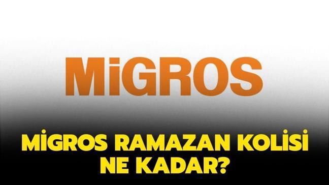 """Migros Ramazan kolisi 2021 içeriğinde neler var"""" Migros Ramazan erzak kolisi ne kadar, kaç TL"""""""