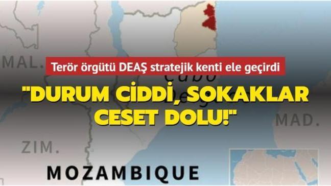 Terör örgütü DEAŞ Mozambik'in Palma kentini ele geçirdi