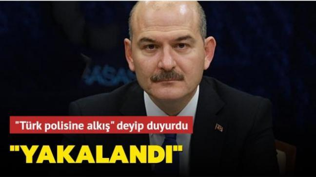 Bakan Soylu duyurdu: Atatürk üzerinden provokasyon yapan zanlı yakalandı