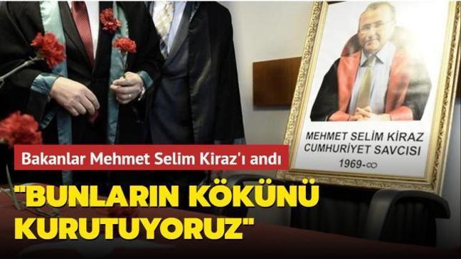 Bakan Soylu ve Gül paylaşımlarıyla Mehmet Selim Kiraz'ı andı