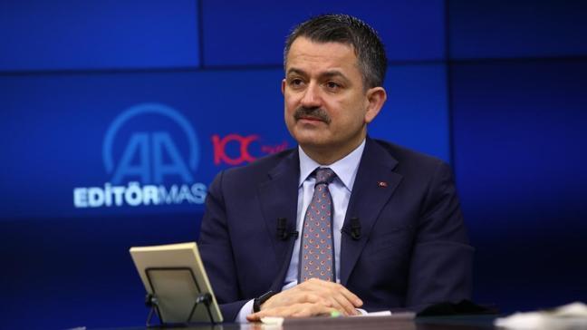 Bakan Pakdemirli: İstanbul, İzmir ve Ankara'da su problemi yok