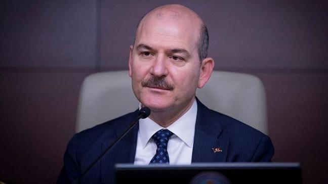 İçişleri Bakanı Soylu AKPM Başkanı Rik Daems ile görüştü