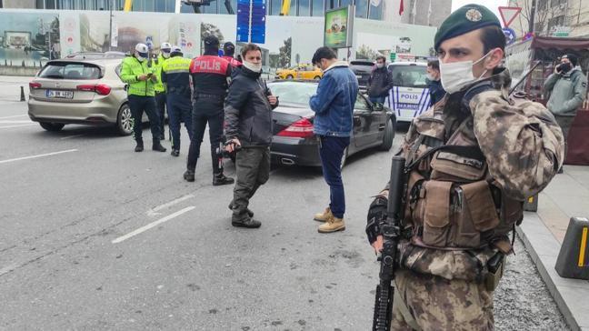 """İstanbul'da """"Yeditepe Huzur Uygulaması"""" helikopterle denetlendi"""