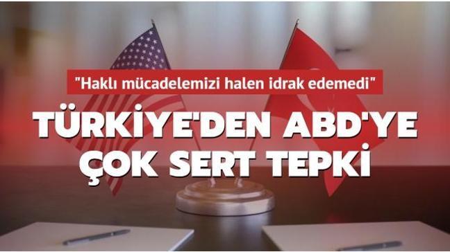 Türkiye'den ABD'ye çok sert FETÖ tepkisi: Halen idrak edemedi