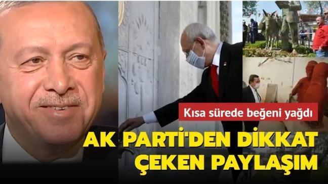AK Parti'nin 1 Nisan paylaşımına beğeni yağdı