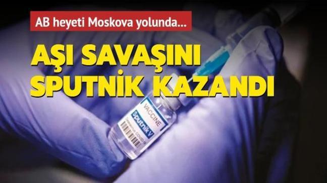 Aşı savaşını Sputnik kazandı
