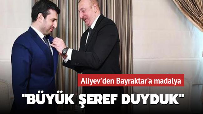 Azerbaycan Cumhurbaşkanı Aliyev ile Selçuk Bayraktar görüştü