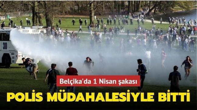 Belçika'da 1 Nisan şakası polis müdahalesiyle bitti