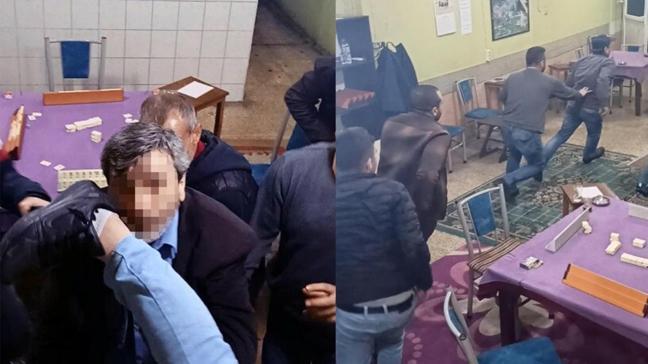 Adana'da baskın: Kumar oynayanlar panikle polisten kaçtı