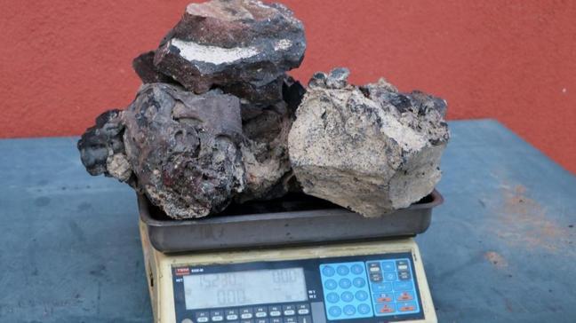 Afyonkarahisar'da bulduğu taşların gramını 3 dolara satmadı, pişman oldu