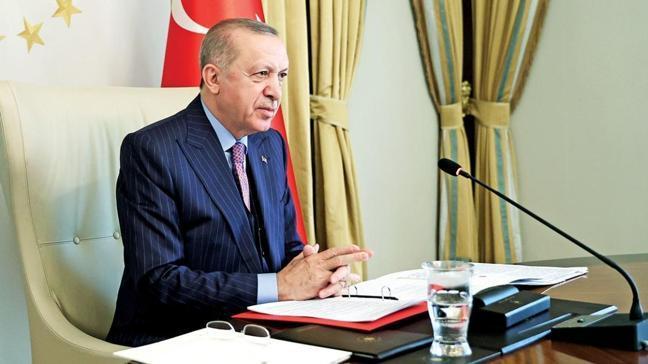 Başkan Erdoğan: Kıbrıs için güç birliği yapalım