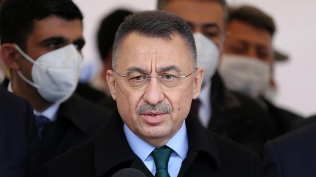 Cumhurbaşkanı Yardımcısı Oktay'dan KKTC'de önemli mesajlar: Biz, Türkiye olarak üreten bir Kıbrıs istiyoruz