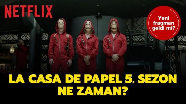 Netflix La Casa De Papel 5. sezon bekleniyor...