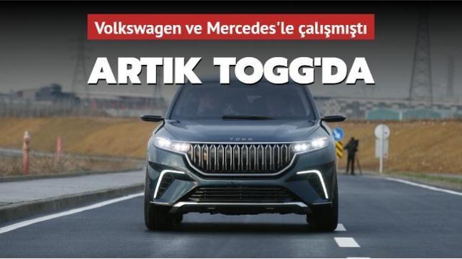 Yerli otomobil TOGG'a yeni tasarımcı