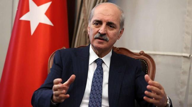 AK Parti Genel Başkanvekili Numan Kurtulmuş'tan anayasa açıklaması