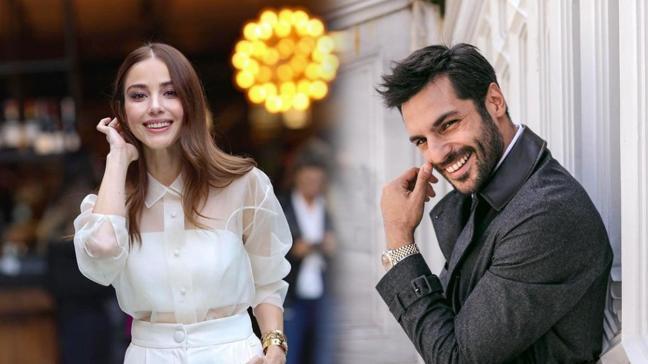 Bir Zamanlar Kıbrıs oyuncusu Serkan Çayoğlu'na sevgilisi Özge Gürel'den destek!