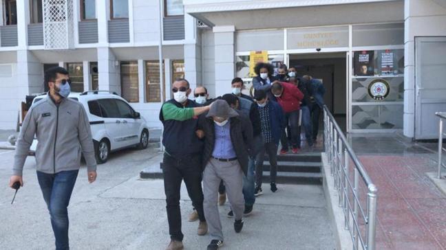 Dublörlü dolandırıcılık çetesine operasyon: Gözaltına alındılar