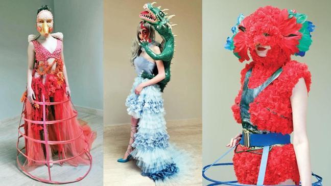 Online karnaval coşkusu ve kostüm tasarım yarışması