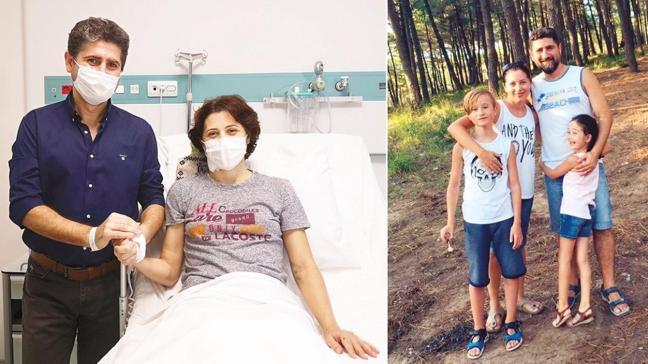 Organ nakliyle sağlığına kavuştu! 12 yıllık eşine 'hayat' bağışladı