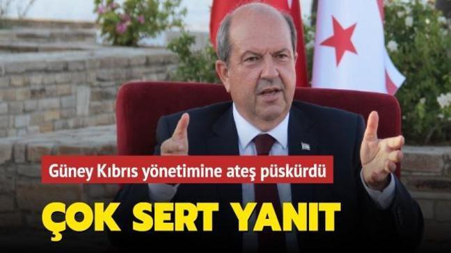 KKTC Cumhurbaşkanı Tatar'dan Anastasiadis'e sert yanıt