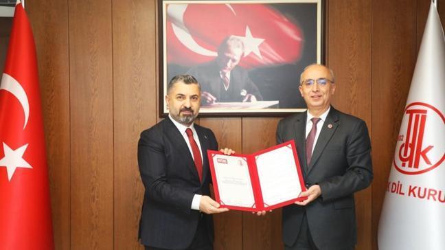 RTÜK ve TDK'dan dikkat çeken iş birliği: İmzalar atıldı