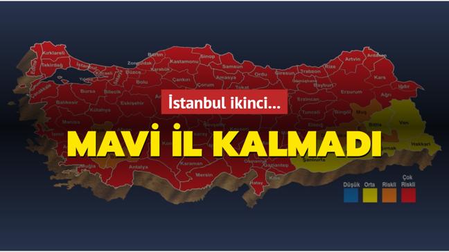 Mavi kalmadı, İstanbul ikinci