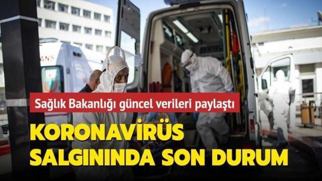 Sağlık Bakanlığı Kovid-19 salgınında son durumu açıkladı... İşte 4 Nisan koronavirüs tablosu