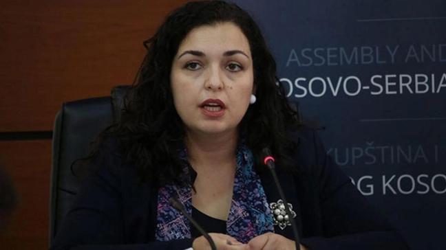Vyosa Osmani Kosova'nın yeni cumhurbaşkanı seçildi
