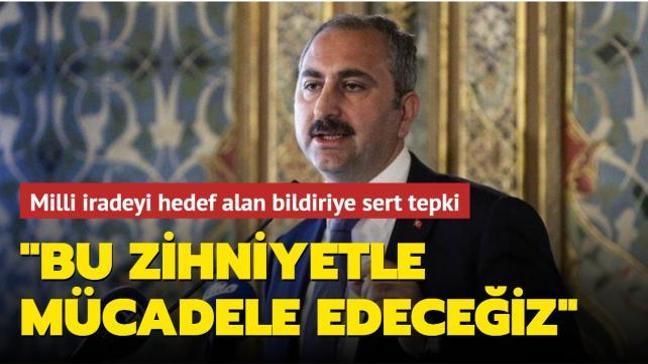 Adalet Bakanı Gül'den emekli amirallerin darbe imalı bildirisine sert tepki: Karanlık zihniyetle mücadele edeceğiz