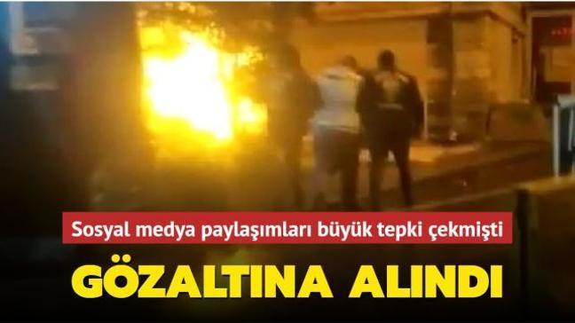 Atatürk ve Özgecan Aslan ile ilgili skandal paylaşımlar yapan Alihan Şimşek gözaltına alındı