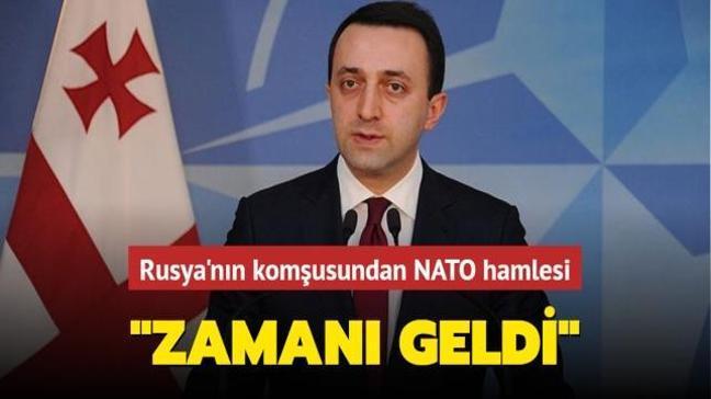 """Rusya'nın komşusundan NATO hamlesi... """"Zamanı geldi"""""""