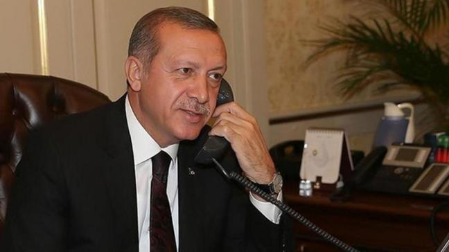 Başkan Erdoğan Ürdün kralı ile telefonda görüştü