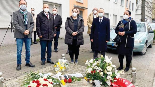 Irkçı terör kurbanı Türk'e 15'inci yılda anma töreni