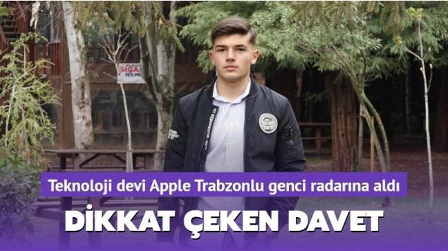 Teknoloji devi Apple Türk genci radarına aldı: Dikkat çeken davet