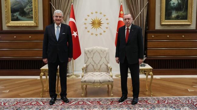 Başkan Erdoğan, BM 75. Genel Kurul Başkanı Bozkır'ı kabul etti