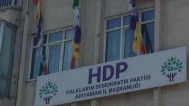 HDP binasında PKK'ya ait dökümanlar ve elebaşının posterleri ele geçirildi