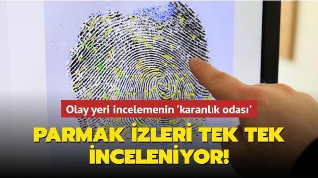 Antalya'da 'karanlık oda'da özel ışık sistemi ile çok sayıda suçun faili belirleniyor