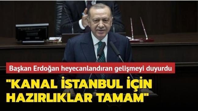 Başkan Erdoğan Kanal İstanbul'un ÇED raporunun hazırlandığını duyurdu