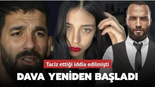 Özlem Ada Şahin'i taciz ettiği iddia edilmişti... Arda Turan'ın davası yeniden başladı