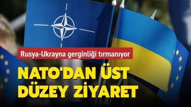 Rusya-Ukrayna gerginliği tırmanıyor... NATO'dan üst düzey ziyaret