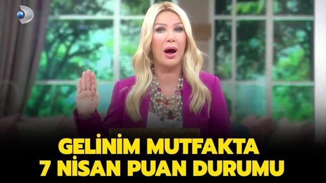 """Gelinim Mutfakta 7 Nisan puan durumu: Gelinim Mutfakta dün gün birincisi kim seçildi"""""""