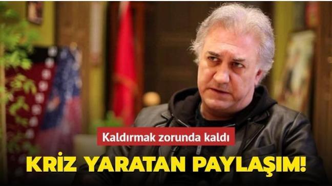 Tamer Karadağlı'dan kriz yaratan paylaşım! Kaldırmak zorunda kaldı